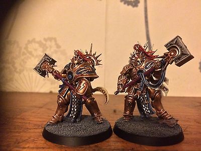 Warhammer Age of Sigmar stormcast eternals retributors painted
