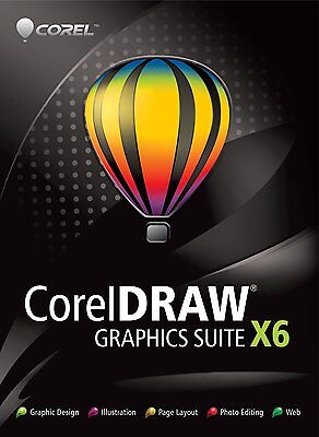 CorelDraw X6 Graphics Suite FULL VERSION + Free over 10 hours of Online Course