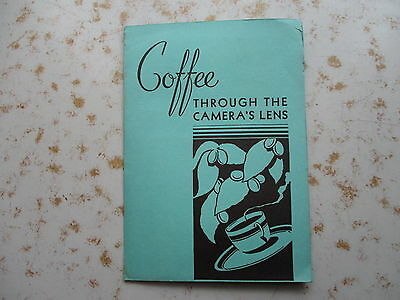 Coffee Through The Camera Lens - 1936 Margaret BOURKE-WHITE Photo Packet