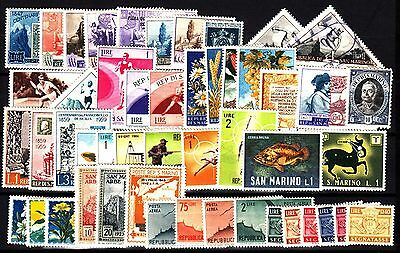 San Marino stamps, 50 different unused