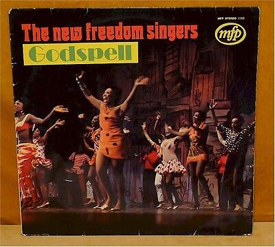 New Freedom Singers, The – Godspell – Music For Pleasure MFP 5606 D 1972