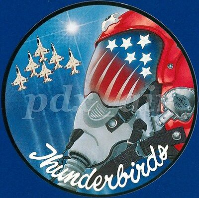 United States Air Force Thunderbirds Air Demonstration Squadron Sticker