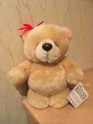 Forever Friends Soft Toy With Red Bow