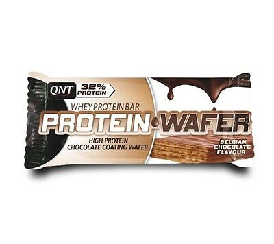 QNT Protein Wafer Bar Concentrated Body Fuel & Slimmng (Chocolate) 12 X 35g