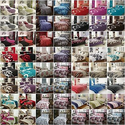 Duvet Cover With Pillow Case Bedding Printed Bed Sets Single Double King Size