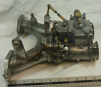 Weber 45 DCOE  Carb with Oselli Manifold for MGB BGT BMC engines