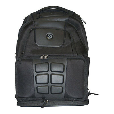 6 Pack Fitness Voyager 500 Meal Management Backpack - Stealth