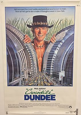 Crocodile Dundee Original One Sheet Movie Poster