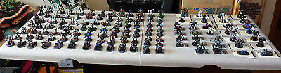 Large 400+ Mechwarrior Figure Lot (Mechs, Vehicles, Small Troops)also 100+ Cards