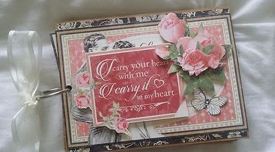 Scrapbooking Handmade Any occasion booklet.