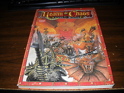 Games Workshop: Realm of Chaos: Slaves to Darkness Hardcover