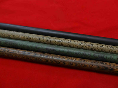 EBONITE RODS- RIPPLE DESIGN RARE 16mm DIA -4 COLORS AVAILABLE- 10 Inches Length