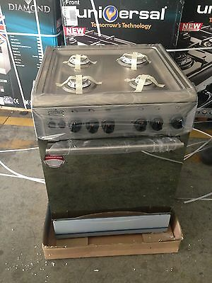 LPG Ready Cookers by Manufactuer 55x55x85cm. Stainless Steel New