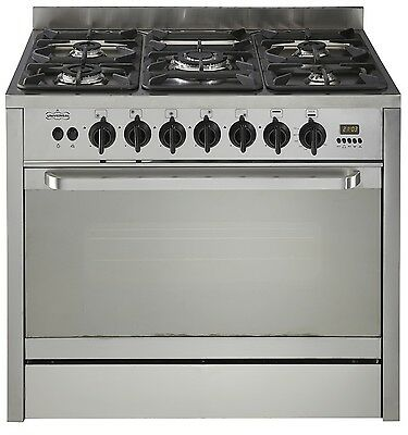 LPG Range Cookers by Universal 90x60x85cm Stainless Steel Brand New
