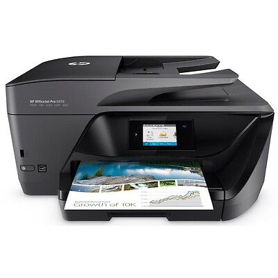 Hp Multifunzione Inkjet Colori Officejet Pro 6970 Fax 20Ppm Eth Wi-Fi Black