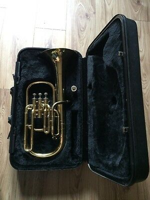 Good Condition Selman Tenor Horn, Comes With Mouthpiece And Plain Case. Buy Now!