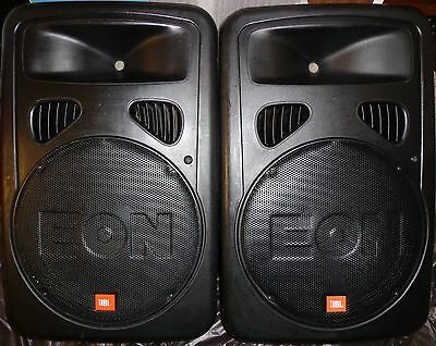 Jbl Eon 15 G2/ Active Powered Pa Speaker System/ Stands/ Eurorack Mx602A Mixer