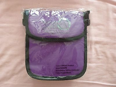 xena warrior princess purple cd holder bag official product X556PB rare