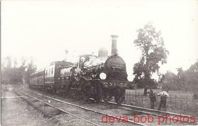 Railway Photo LCDR 53 Europa Martley 2-4-0 Loco Mail Train SR Southern LC&DR