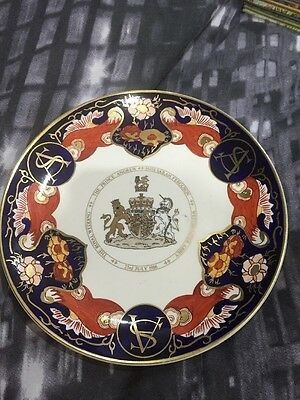 Limited Edition Royal Wedding Plate. Prince Andrew & Sarah Ferguson 23 July 1986