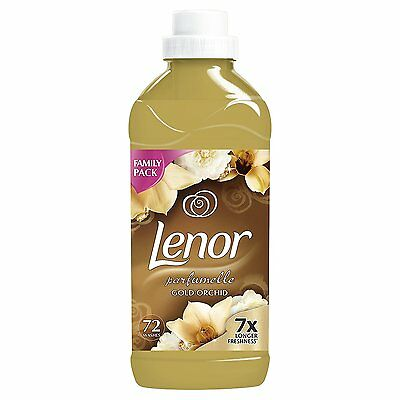 Lenor Gold Orchid Fabric Conditioner, 72 Washes, 1.8 L - Pack of 6