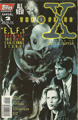 Comics The X-Files Annual Volume 1 Number 2 1996
