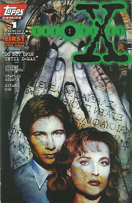 Comics The X-Files Volume 1 Number 1 January 1995
