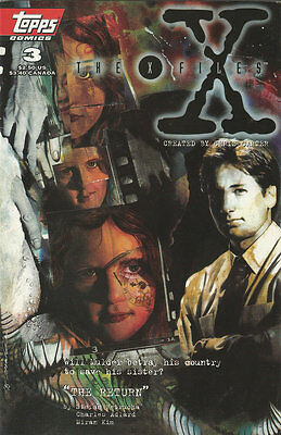 Comics The X-Files Volume 1 Number 3 March 1995