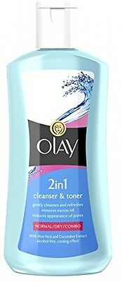 Olay 2-in-1 Cleanser And Toner - 200 Ml