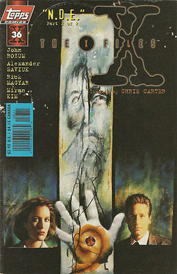 Comics The X-Files Volume 1 Number 36 December 1997