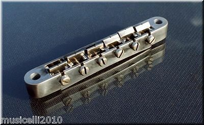 Faber ABRN-59-NA,ABRN59NA Bridge fits Nashville Studs, Nickel Plated,Aged Finish