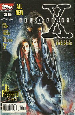 Comics The X-Files Volume 1 Number 25 January 1997