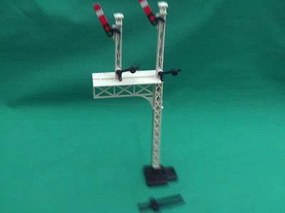 Hornby Double Home Junction Signal With Ladder In Working Order V.g.c.