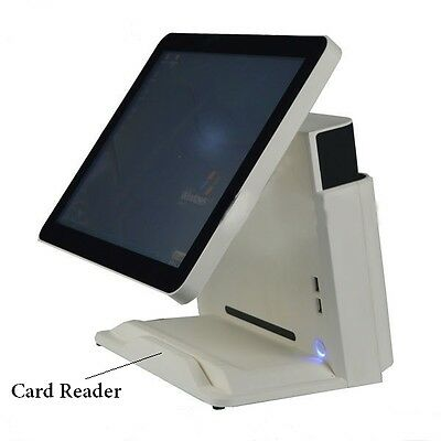 "15"" All in one Touch EPOS System With Customer Display / Card Reader"