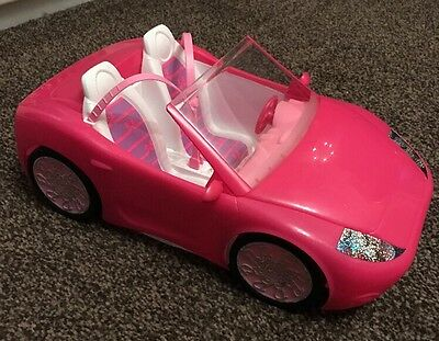 Barbie Pink Convertible Coupe 2010 Sports Car