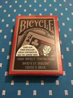 Bicycle TRAGIC ROYALTY Playing Cards - Brand New & Sealed