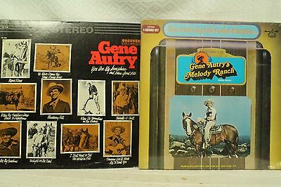 lot lp records Gene Autry Melody Ranch Radio Show Murray Hill radio theatre mint