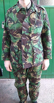 Original British DPM Aircrew Combat Temperate Mk2a Jacket & trousers flight suit