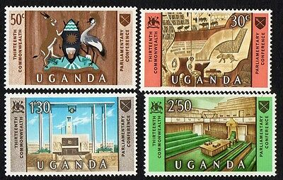 Uganda stamps. 1967 The 13th Commonwealth Parliamentary Association Conference