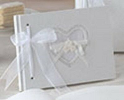 Lillian Rose Small Natural Paper Guestbook