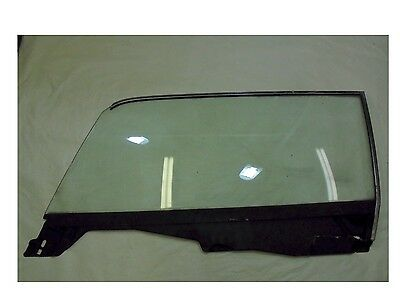 1965-1966 Mustang Coupe Door Glass - Clear - Driver