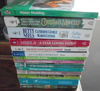 Large Lot of 14 Betty Neels Harlequin Romance Books Good Condition