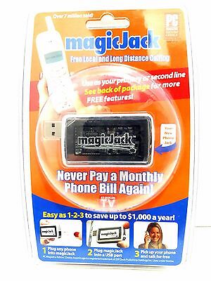 New Magic Jack (Free Local and Long Distance Calling) Save up to $1000 a year