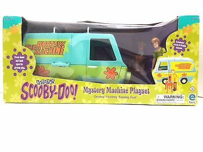 Equity/Cartoon Network Scooby Doo Mystery Machine Playset w/ Shaggy & Scooby