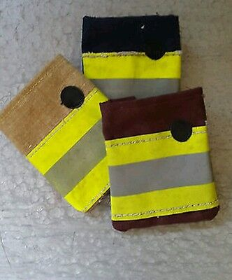 Fire brigade uniform pager/alerter pouch - London red
