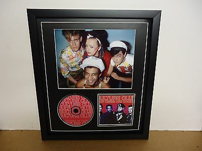 Culture Club Hand Signed/Autographed CD cover with CD and a Photo & COA