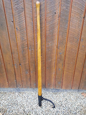 """ANTIQUE Cant Hook 56"""" Log Roller Peavey Lumber Jack Mill in VERY GOOD CONDITION"""