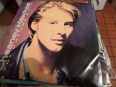 "Chesney Hawkes The One And Only 7"" single 45rpm"