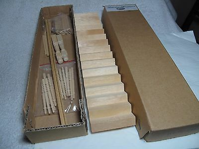 Miniature dolls house staircase kit unused
