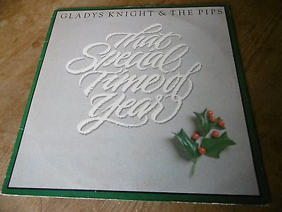 GLADYS KNIGHT & THE PIPS - That Special Time of the Year - CHRISTMAS LP - 1982